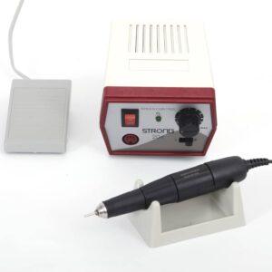 Nuovo micromotore Futura a spazzole 50.000 RPM pedale switch centralina ergonomica e manipolo leggero con zero vibrazioni