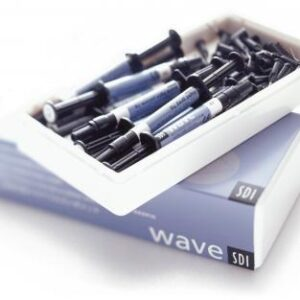 Composito Fluido WAVE  SDI 6 siringhe da 1g + 6 siringhe da 1 g in omaggio colorazione: A1-A2-A3-A3,5-B1-B2-B3-C2-C3-D3-OA2-INCISALE-GENGIVALE-BLEACH